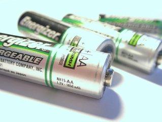 De lithium batterij opslaan